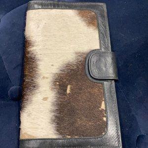 Cow hide wallet